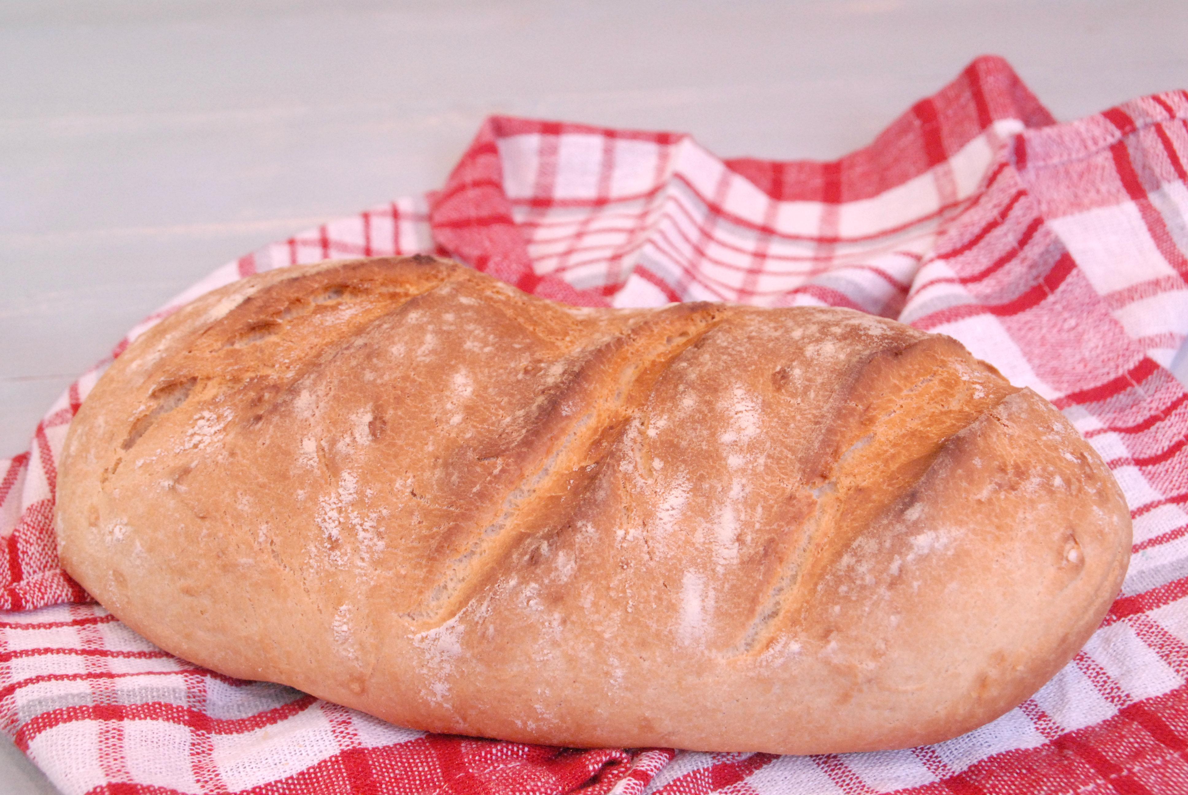 Receta de pan milagro sin levado.