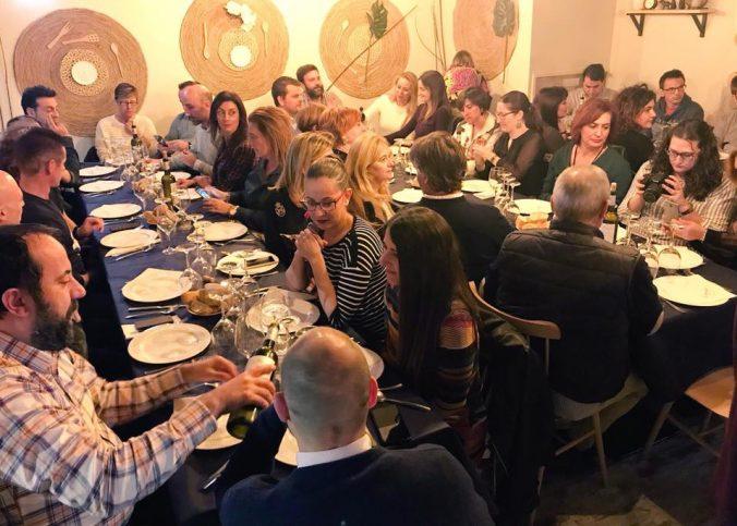 Foto cata de vinos de Vinoteo