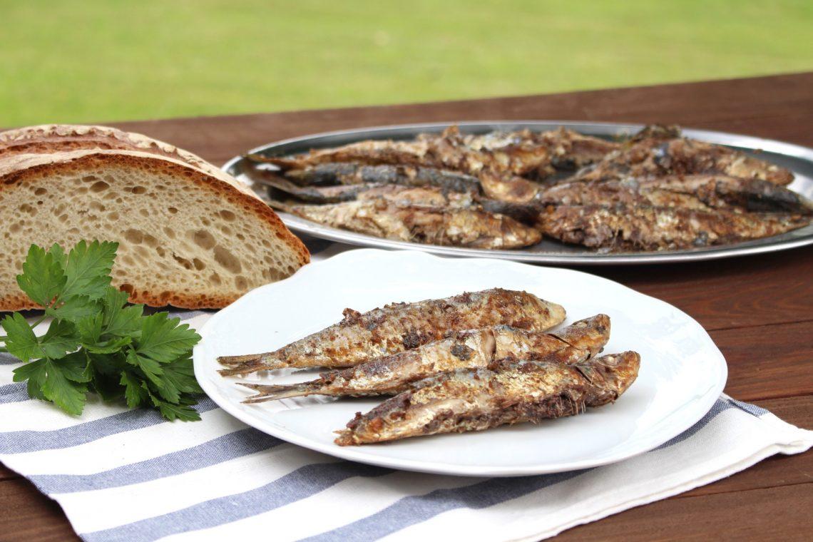 Receta de sardinas a la plancha