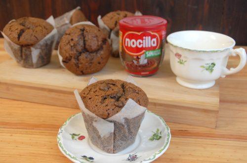 Receta de muffins de nocilla