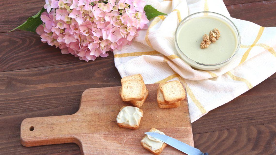 Receta de paté de quesos con Thermomix