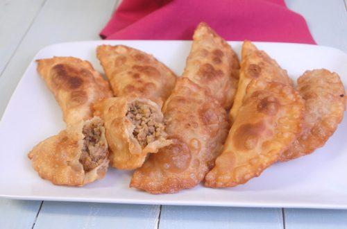 Receta de empanadillas de carne fritas
