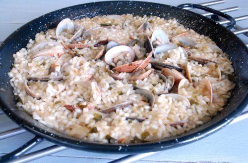 Receta de arroz con almejas
